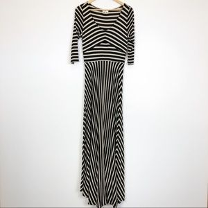 Anthropologie Puella Demarcation Maxi Dress M